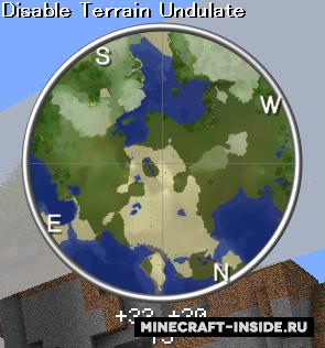 Мод на Карту для Майнкрафт 1.6.4