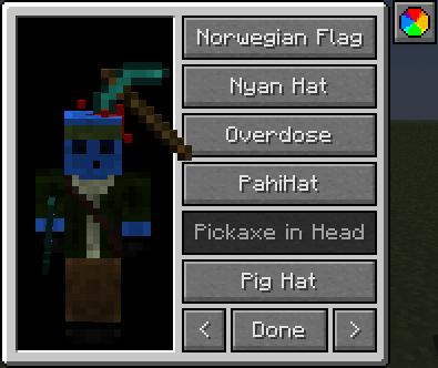 Мод на шляпы iChun's Hats майнкрафт