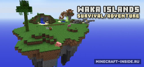 скачать карту Waka Islands img-1