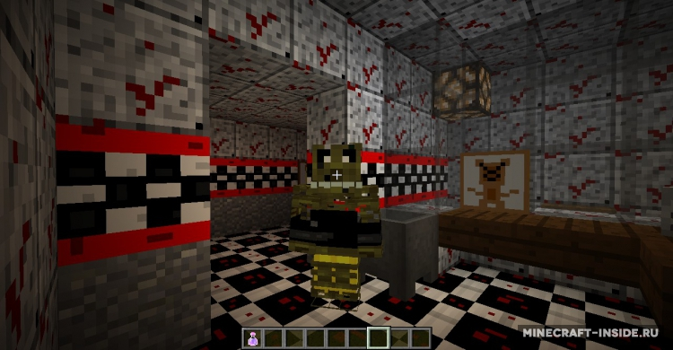 Текстур Пак Фнаф 1 для Майнкрафт 1.6.4/1.7 Minecraft 1.7.1 ...