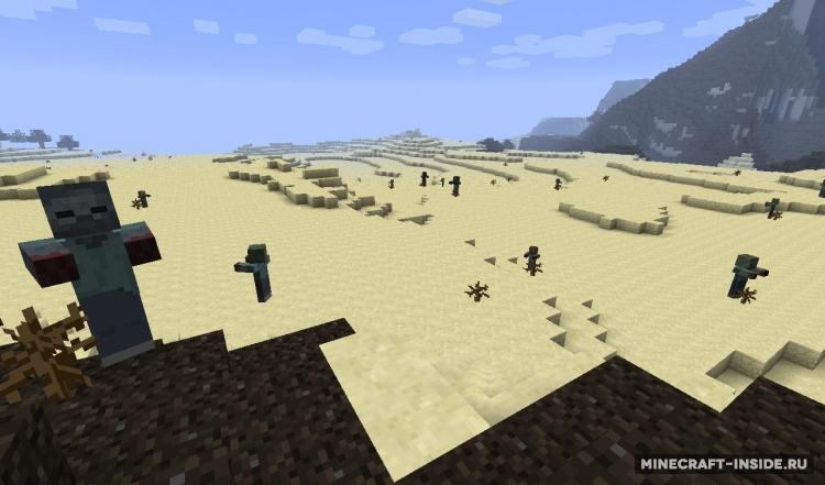 Скачать CrackedZombie для Minecraft 1.7.10 бесплатно