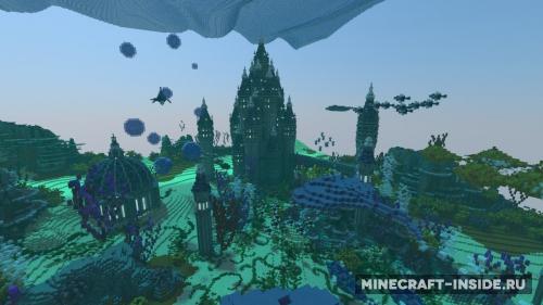 Скачать карту подводный мир для майнкрафт