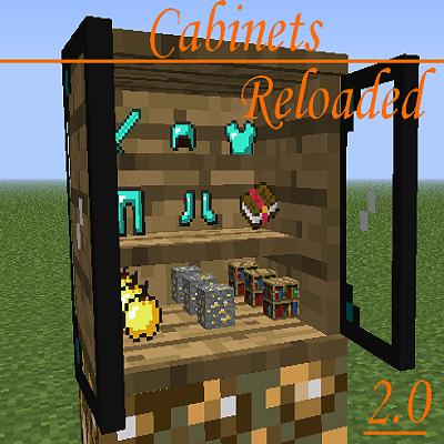 Cabinets Reloaded [1.8] [1.7.10] / Моды для Майнкрафт / Minecraft ...