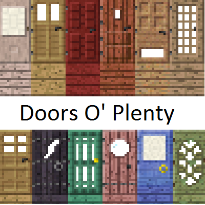скачать мод на дверь - фото 10