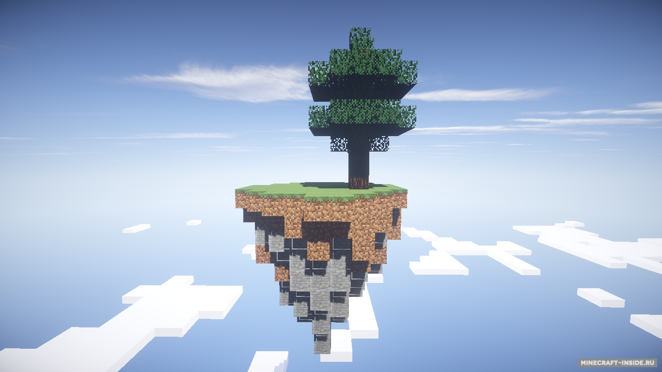 skyway island survival скачать карту