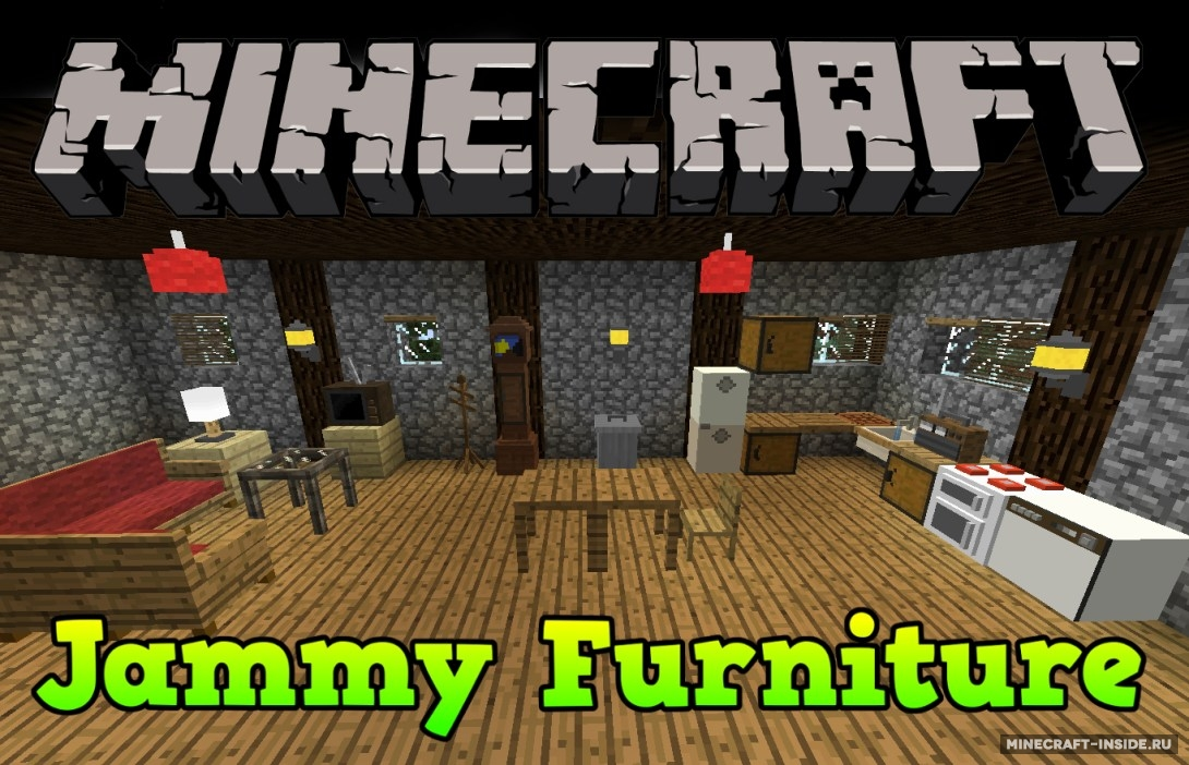 Jammy furniture reborn 1 1 7 2 1 6 4 for Furniture mod 1 12 2