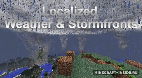 Weather & tornadoes mod 1. 7. 10/1. 7. 2 | minecraft mods.