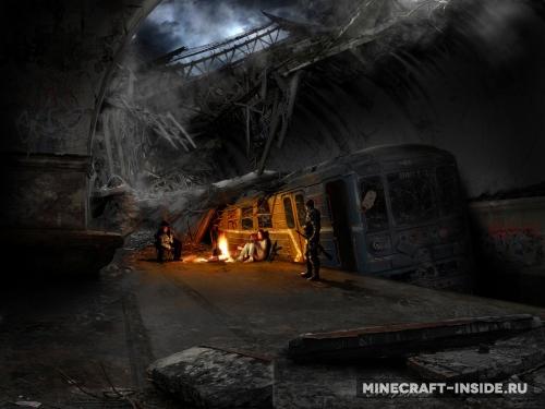 скачать пост апокалипсическую сборку для Minecraft - фото 3
