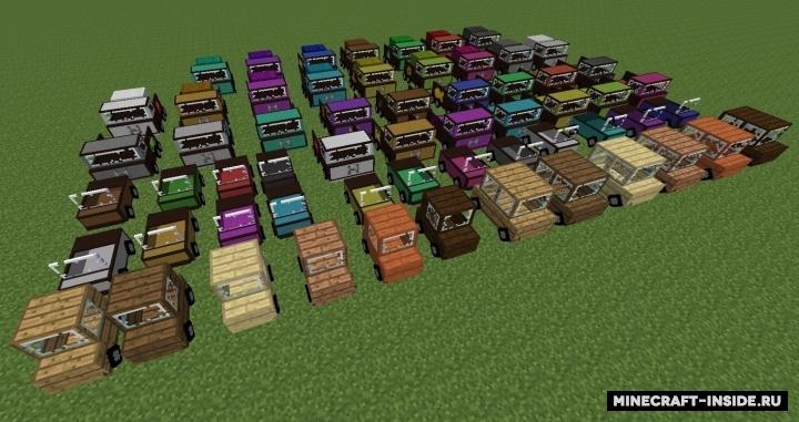 Мод Car для Minecraft