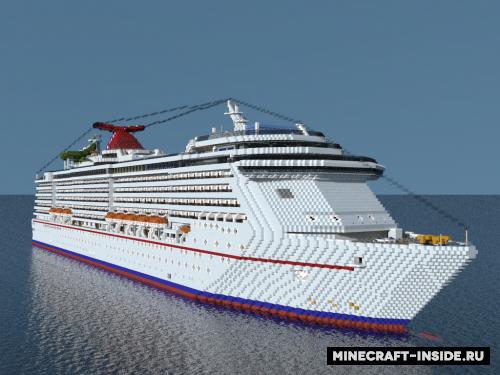 Carnival Legend Ship [1.12.2] / Карты для Майнкрафт ...