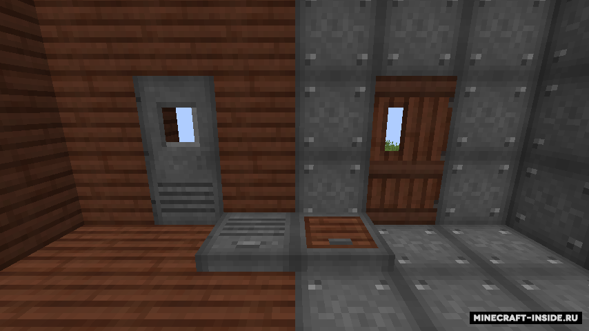 мод на двери 1.12