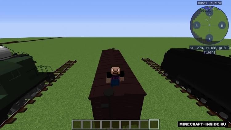 Immersive Railroading [1 12 2] [1 11 2] [1 10 2] / Моды для