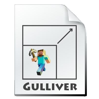 Мод на изменение размера игрока для Minecraft 1.16.5/1.15.2 (Gullivern)