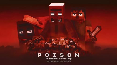 Хоррор карта для Майнкрафт 1.16.5 (Poison)