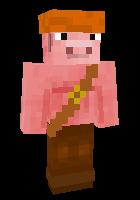 майнкрафт скины свин плей #3